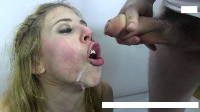 Violetta takes sperm river mouth
