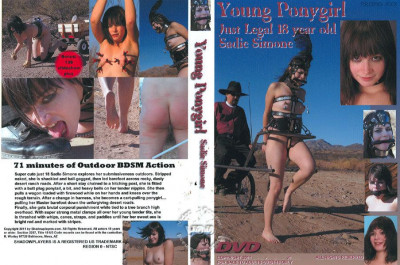Young Ponygirl  Sadie Simone
