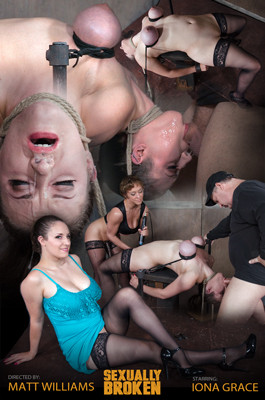 SB – Jul 27, 2016 – Iona Grace's Big Natural Breasts Bound As She Is Throatboarded And Made To Cum