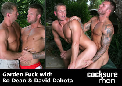 Bo Dean And David Dakota On Cocksure Men