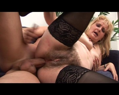 Busty blonde MILF loves some gangsta young boys.