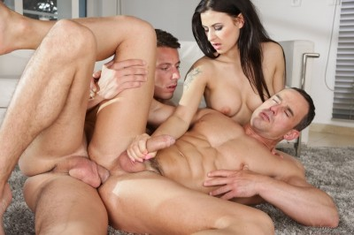 Billie Star, Andy West, Nick Ross (Bi Curious Couples #11)