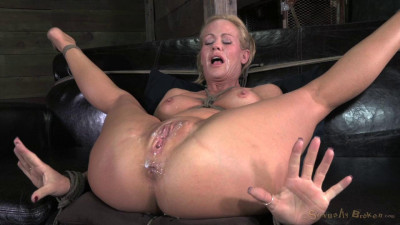 Simone Sonay roughy fucked by black cock and Bondage (2014)