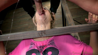 SB - Little Chastity Lynn is roughly fucked in pink!