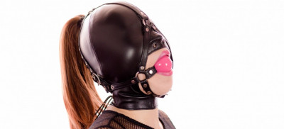Restricted Senses – Black Fishnet Fetish Doll