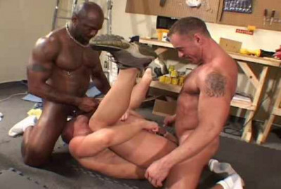Rough Anal With Wood Workers