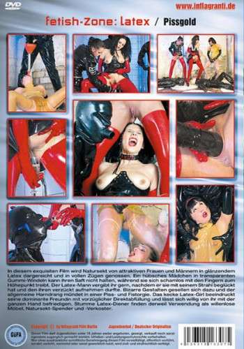 In this exquisite film golden shower is presented by attractive women and men in shining latex.