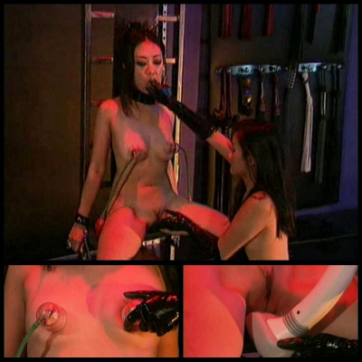 Asian Tied And Licked - BT