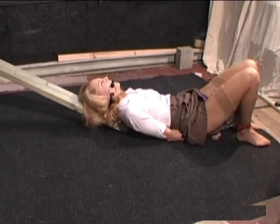 Ariel lifts her skirt and hand spanks her own bottom... (2013)