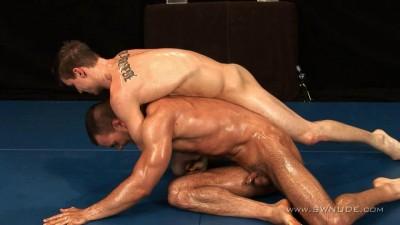 Ivo and Adam Wrestling (2013)