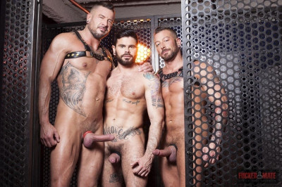 Mario Domenech, Dolf Dietrich and Hugh Hunter