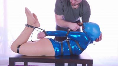 Blue Bodysuit Belted