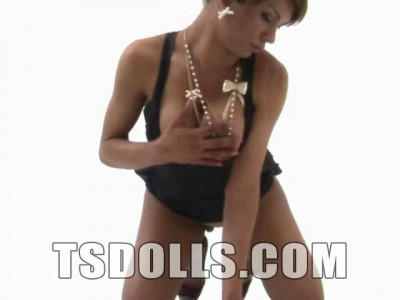TS Doll Jennifer Cortez Solo Beauty