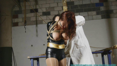 Superheroines Revenge Gone Awry – Table Tied And Tits Tied- BDSM, Humiliation, Torture HD 720p