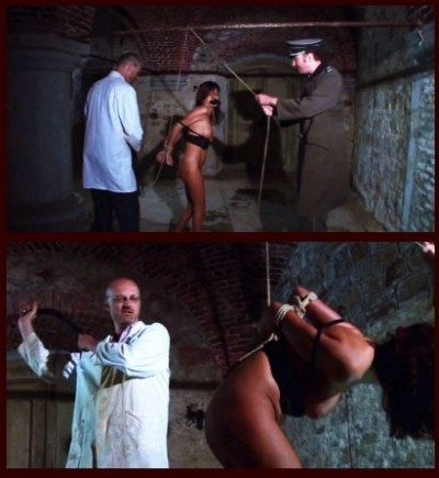 BDSMPrison - Natalia Endures BDSM Interrogation with Suspension & Flogging 2