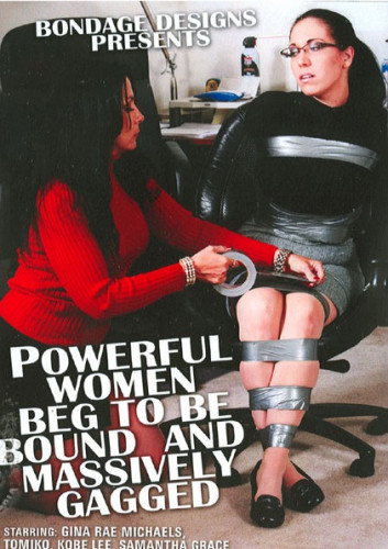 Bondage Designs   Women Massively Gagged DVD