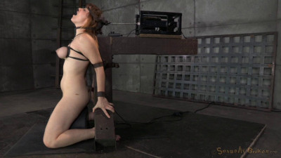 Redhead Jessica Ryan In Strict Bondage On Sybian, Brutal Messy Deepthroat