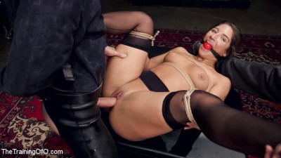 Hardcore Anal in Strict Bondage, 19 Year Old Abella Danger, Day One