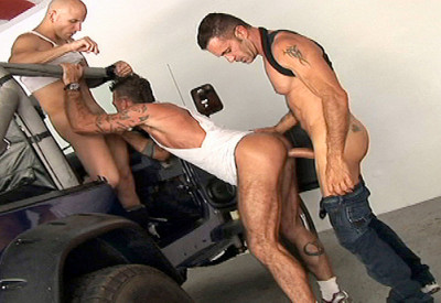 "Lito Cruz ,Ray Dalton & Calvin In ""Sex Garage"""