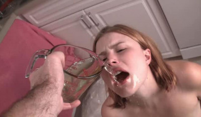 Two Cute Girls Face-Slapping and Humiliation – Piss Whore Training