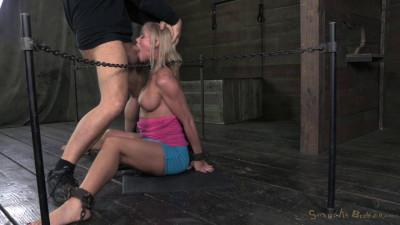 SexuallyBroken Stunning MILF Simone Sonay Chained Down