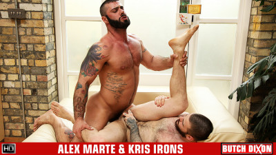 Alex Marte and Kris Irons