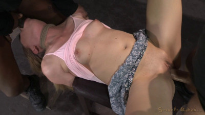 Tiny Emma Haize Gets Tightly Bound And Fucked