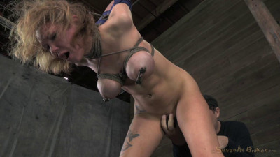 SexuallyBroken  Big Breasted Blonde Rain DeGrey