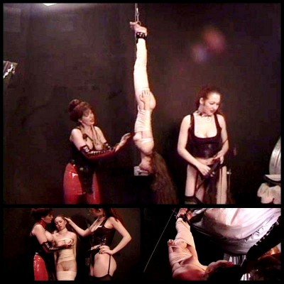 Two Lesbians Punishing A Slave Girl - BT