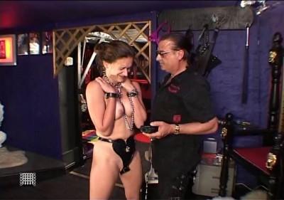 Slavegirls Electric Chastity Belt