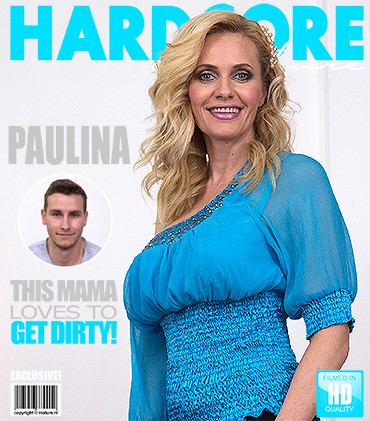 Paulina w — Hot MILF doing her toyboy HD 720p