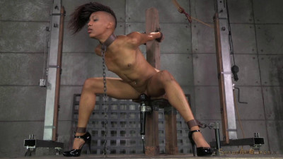 Nikki Darling Strictly Shackled And Throat Trained