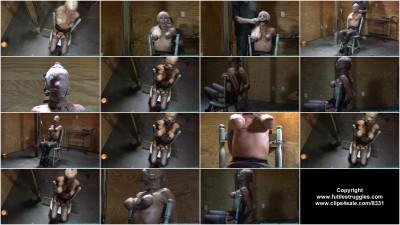 Thighs Spread Chair Tie For Amanda Fox 1 Part – BDSM, Humiliation, Torture HD-720p