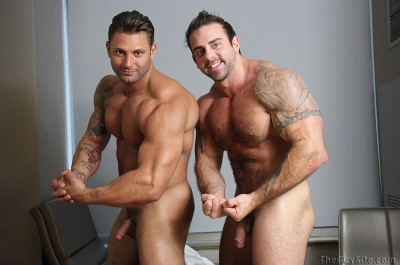 Double Muscle With Mike Buffalari And Xavier (2012)