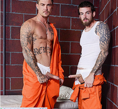 Bromo - Barebacked In Prison - Rocko South and Sebastian Young