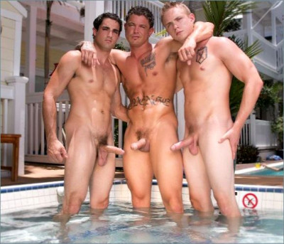 Sebastian Youngs first raw bottom scene poolside Key West