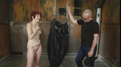 SI - Sandy Skarsgard - Suspended Leather Torment Part 2