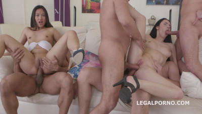 Crystal Greenvelle & May Thai Double Addicted GIO171
