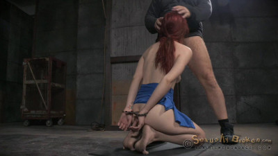 Total Destraction In De Final Part Of Violet Monroe's BaRS Show Rough Dogystyle Fukcing With BBC