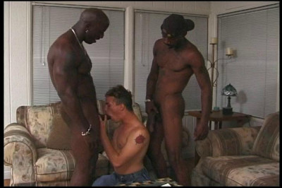 White Boy Fucked By Two Black Men
