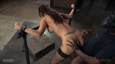Part Two Of Syren De Mer's BaRS Show With Rough Brutal Fucking And Challenging Deepthroat On BBC