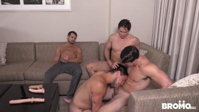 Aspen, Addison Graham, Evan Marco And Tobias – Str8 Bitch