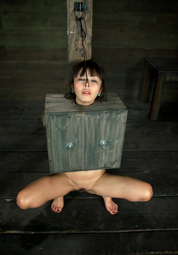 Cute innocent Japanese girl boxed!