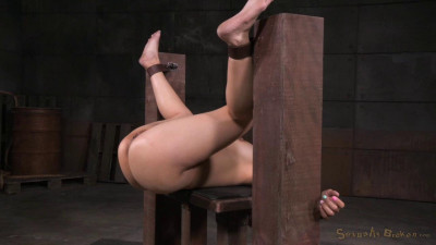 Tiny Asian Asia Zo In Her 1st Bondage Shoot Epic Deepthroat Squirting Orgasms (2015)