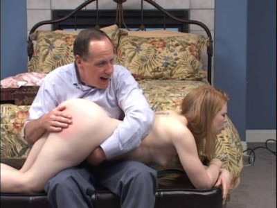 Mr. Lawrence's Will And Bravely Endures A Hard Hand Spanking And An Embarrassing Spanking