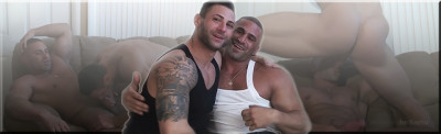 M4Muscle - Hardcore Muscle Worship - Mike Buffalari and Sam Rizzo