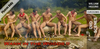 WHiggins - Wank In The Woods II, Part 2 - Cam #3 - Dvd Scenes - 22-08-2013