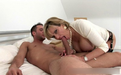 Lady Sonia in the scene Adultress And The Huge Young Stud