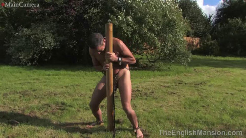 Femdom and Strapon Real-Time Footage 247 Slavery