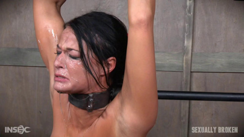 bdsm London River Strains and Cums Until Tears Fall for First Part of BaRS Feed